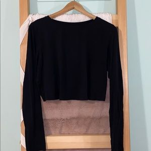 Lululemon long sleeve crop top